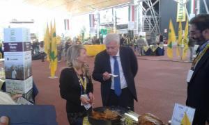 Lucia Marascio e Il Ministro Galletti